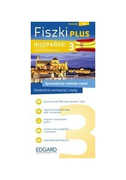 Hiszpański Fiszki Plus dla śred. zaaw. 3