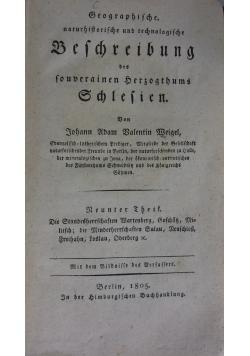 Beschreibung des fouberainen Herzogthums,1805r
