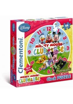 Puzzle 96 Zegar Klub Przyjaciół Myszki Mickey