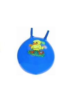 Piłka gumowa skoczek niebieska