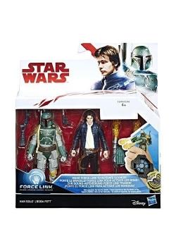 Star Wars 2-Pak Figurek Han Solo + Boba Fett