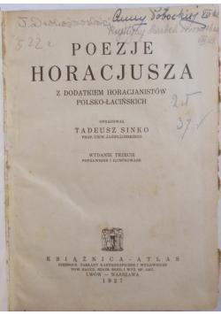 Poezje Horacjusza, 1927 r