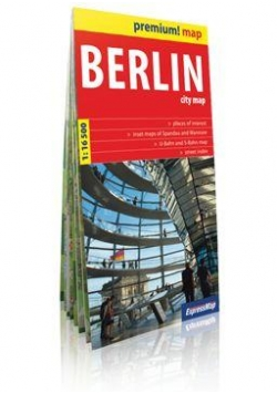 Premium!map Berlin 1:16 500 plan miasta