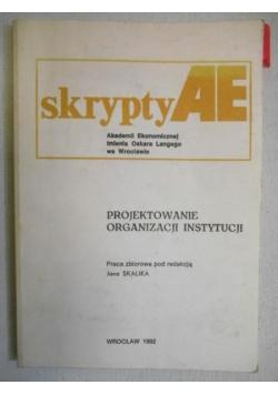 Projektowanie organizacji instytucji