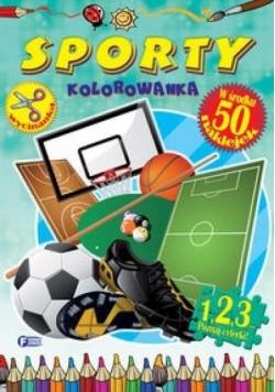 Sporty. Kolorowanka FENIX