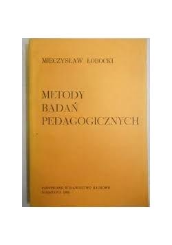 Metody Badań Pedagogicznych