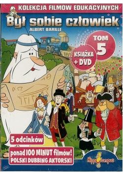 Był sobie człowiek książka+DVD Tom 5