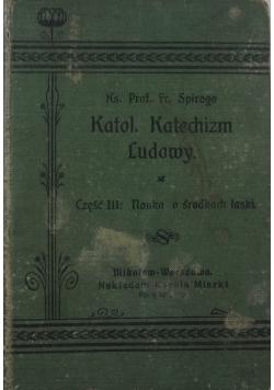 Katol. Katechizm ludowy. Część 3, 1906 r.