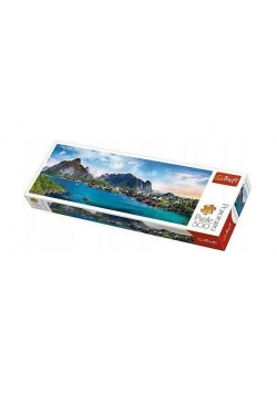 Puzzle 500 Panorama - Archipelag Lofoty TREFL