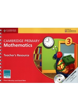 Cambridge Primary Mathematics 3 Teacher's Resource + CD