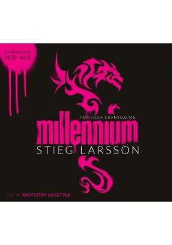 Pakiet - Trylogia Millennium. Audiobook