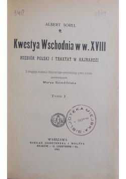 Kwestya Wschodnia w w. XVIII , 1905 r.