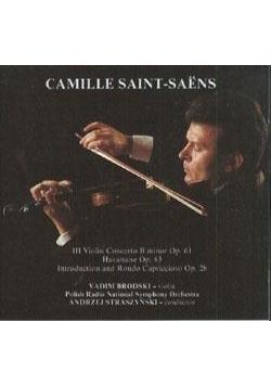Camill Saint-Sans - III Koncert Skrzypcowy CD