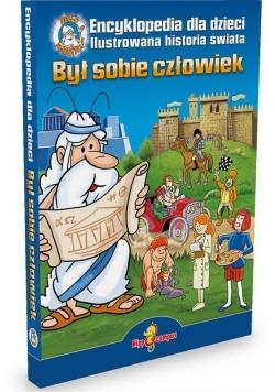 Był sobie człowiek - encyklopedia dla dzieci+DVD
