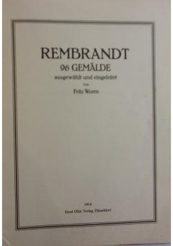 Rembrandt ,1914r.