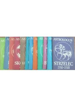 Astrologus, zestaw 12 książek