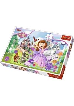Puzzle 24 maxi Kolorowy świat Zosi TREFL