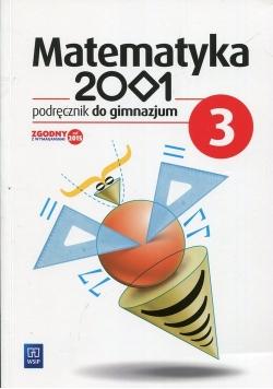 Matematyka 2001 3 Podręcznik