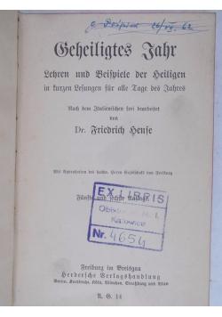 Geheiligtes Jahr, 1917 r.