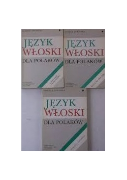 Język włoski dla Polaków, zestaw 3 książek