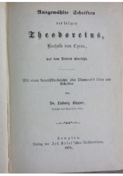Theodoretus, 1878 r.
