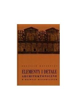 Elementy i detale architektoniczne...