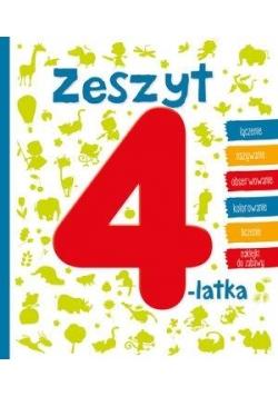 Zeszyt 4-latka w.2016