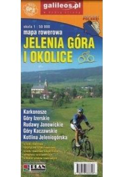 Mapa rowerowa - Jelenia Góra i okolice 1:50 000