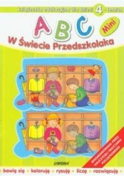 ABC w świecie przedszkolaka MINI 4L  LIWONA