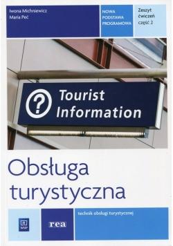 Obsługa turystyczna Zeszyt ćwiczeń Część 2