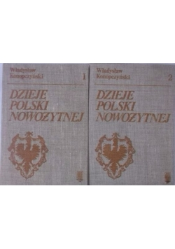 Dzieje polski nowożytnej, tom I-II