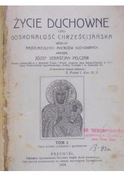Życie duchowe, tom I, 1924 r.