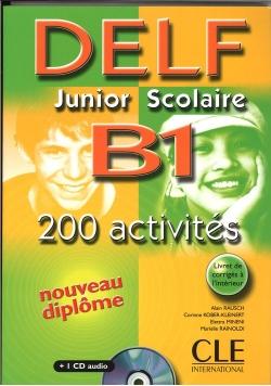 DELF B1 Junior Scolaire Książka + klucz + transkrypcja + CD audio