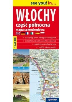 See you! in...Włochy cz.Pn 1:650 000 mapa