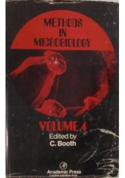 Methods in Microbiology Volume 4