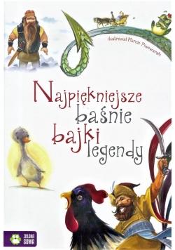 Najpiękniejsze Baśnie, Bajki, Legendy (biała)