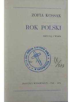 Rok Polski obyczaj i wiara