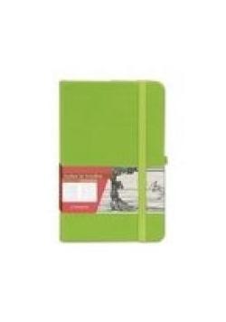 Notes A6 Kratka Secesja Zielony ANTRA