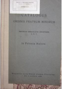 Catalogus ordinis fratrum minorum, 1930r.
