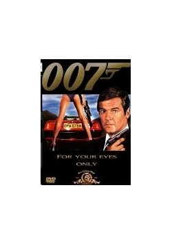 007 for your eyes only, DVD Nowa