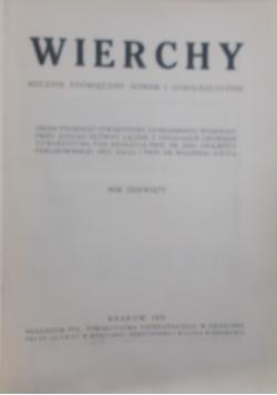 Wierchy rocznik dziewiąty, 1931 r.