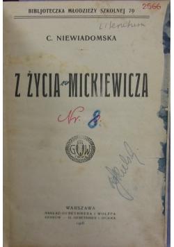 Z życia Mickiewicza, 1908 r.