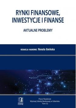 Rynki finansowe, inwestycje i finanse T.52