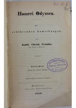 Homeri Odyssea, 1849 r.