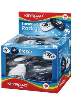 Gumka uniwersalna KEYROAD Rocky Display 48 sztuk mix