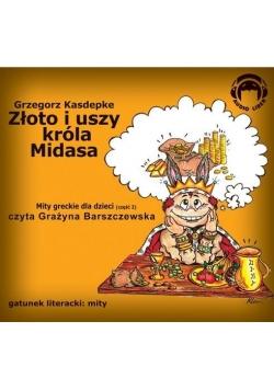 Złoto i uszy króla Midasa. Mity Audio CD