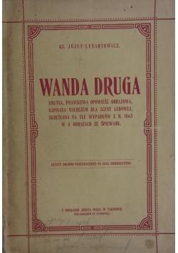 Wanda Druga,1919r.