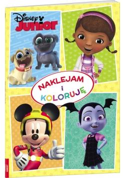 Disney Junior Naklejam i koloruję