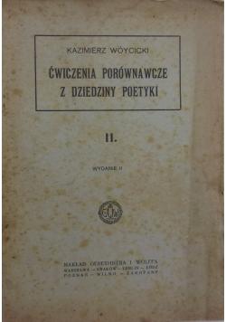 Ćwiczenia porównawcze z dziedziny poetyki, 1930 r.