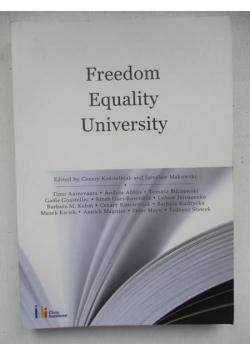 Freedom Equality University